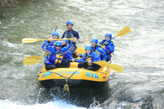 Clear Creek Rafting Gold Rush