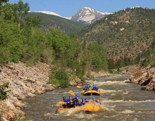 Whitewater Rafting Colorado