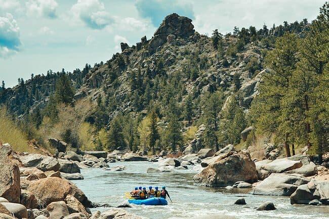 Browns Canyon Colorado Rafting